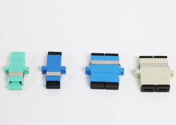 Adaptador da fibra ótica da luva de Zrconia com perda do retorno alta da queixa de ROHS
