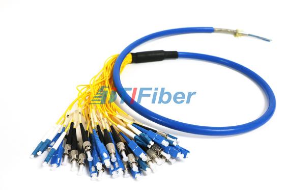 Trança de fibra ótica impermeável blindada com fibra de G652D G657A1