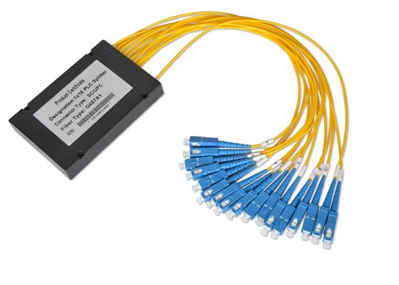 Os acopladores 1*32 e 2*32 de fibra ótica com 0.9mm 2.0mm 3.0mm cabografam, divisor da fibra multimodo