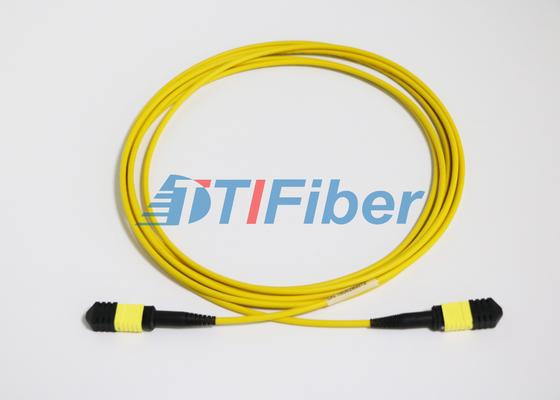 Cabos de remendo Singlemode da fibra ótica do UPC/APC MTP com revestimento de LSZH