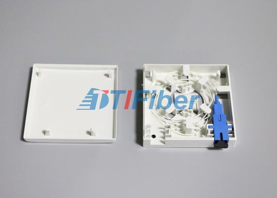 Painel do soquete do porto da caixa de tala 2 da fibra ótica do adaptador da fibra do SC/LC